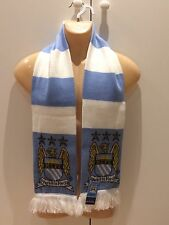 MANCHESTER CITY FC SCARF OFFICIAL LICENSED PRODUCT SKY BLUES FOOTBALL SOCCER UK