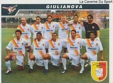 706 SQUADRA GIULIANOVA CALCIO ITALIA SERIE C1 STICKER CALCIATORI 2005 PANINI