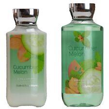 Bath & Body Works Cucumber Melon Body Lotion & Shower Gel Wash Set