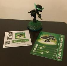 Skylanders Swap Force Ninja Stealth Elf Brand New Loose With Card & Sticker