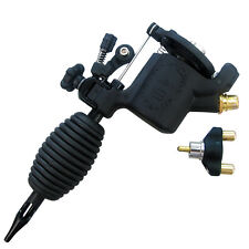 Rotary Tattoo Machine Gun Gen 8 Full Adjustable from Hard to Soft Hitting Black