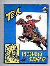 """TEX # INCENDIO ALLO """"STAR-O"""" # N.42 - Agosto 1967 # Araldo # Lire 250"""