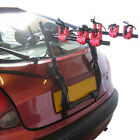NEW 3 BICYCLE CARRIER CAR RACK BIKE CYCLE UNIVERSAL FITS MOST CARS Incl STRAPS