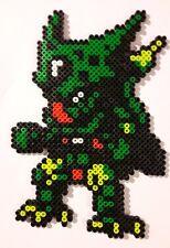 Cell (Dragon Ball) - Bead sprite perler pixel art - Perles à repasser