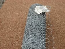 "Poultry Wire Fence 1"" mesh X 24"" high X 25 ft. long X 20 gauge ( Made in USA )"