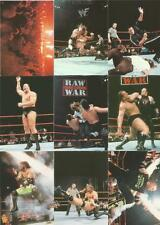 WWF Smackdown ! Trading Cards Full 72 Card Base Set from Comic Images 1999