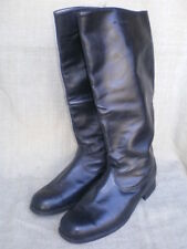 Soviet Army Officer's Thin Leather High Boots. Size 11.