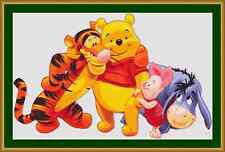 Winnie The Pooh And Friends Cross Stitch Kit