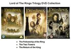 LORD OF THE RINGS TRILOGY DVD Part 1 2 3 Movie Towers Fellowship Return King New