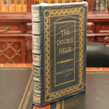 Double Helix Signed Ltd Edition and Number by James Watson DNA Easton Press