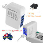 2.1A 4 Ports USB Portable Home Travel Wall Charger US Plug AC Power Adapter AO