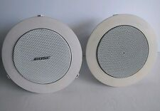 BOSE Speaker Pair (2) FreeSpace 3 Satellite Flushmount Commercial - Works Great!