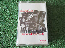 ROLLING STONES **Electric Motherfuckers ** RARE & SCARCE CASSETTE NO LP OR CD