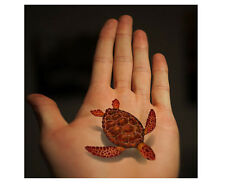 turtle fishes temporary tattoos Waterproof temporary sticker 3D-31 children love