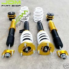 32-way Adjustable racing coilover suspension set 98-06 BMW E46 3-Series GoldEN