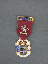 Royal Masonic Benevolent Inst - Steward's Jewel 1950