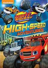 Blaze and the Monster Machines: High-Speed Adventures (DVD, 2015)