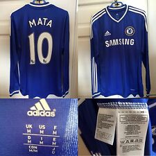 Maillot Jersey Chelsea MATA - Neuf, New - Domicile Home - Manches Longues - M
