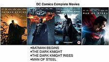 The Complete DC Movies- Batman begins, dark knight, NEW & SEALED UK R2 DVD