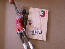 BASKETBALL MCFARLANE TOYS ACTION FIGURE BEN WALLACE SERIES 12 BULLS LOOSE BROKE
