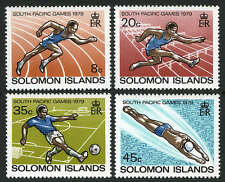 Solomon Islands 389-392,MI 377-380,MNH.South Pacific Games:Running,Swimming,1979