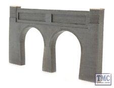 44-228 Bachmann Scenecraft OO/HO Gauge Low Relief Double Track Tunnel Portal