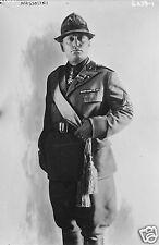 Fascist Leader Benito Mussolini il Duce Italy, 6x4 inch Reprint Photo