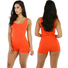 Women Gym Romper Dance Training Practice Yoga Bodycon Slim One piece Jumpsuit