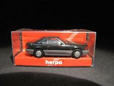 Herpa 025157 MB 500 SL Nero High Tec NUOVO & OVP s5-2981