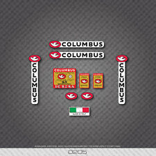 0205 Columbus SLX Derosa Bicycle Frame and Fork Stickers - Decals