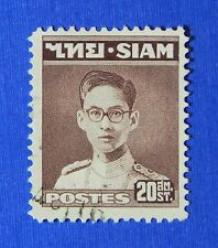 1947 THAILAND 20 SATANGS SCOTT# 266 MICHEL # 266 USED                    CS24266