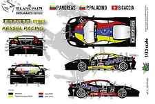 "[FFSMC Productions] Decals 1/32 Ferrari F-430 Scuderia GT ""Kessel Racing"""