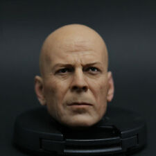 Bruce Willis HEADPLAY GI Joe Die Hard ultimate detecti HEADSCULPT 1/6 FIGURE