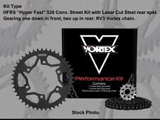 Vortex HFRA Aluminum 520 Conv. Chain and Sprocket Kit - 15/44T 112 Links  CK6332