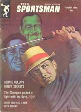 South African Sportsman Aug 1966 Mag Bobby Cole, Bennie Osler's , Danie Craven