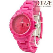 Orologio donna TOY WATCH collezione Monochrome Plastica rosa Fucsia 40 mm MO04PS
