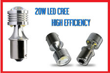 LED LAMPADINA RETROMARCIA STOP 5X4 LED CREE P21W 20W CANBUS 100% NO ERROR