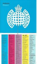 CD--MINISTRY OF SOUND PRES. -- --5 CD SET -- ANTHEMS COLLECTION --