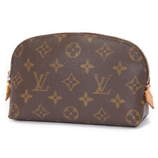 F/S Auth LOUIS VUITTON Pouch Pochette Cosmetic Monogram canvas M47515 Used (AB)