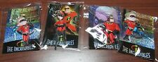 NEW 8 THE INCREDIBLES KEYCHAINS DISNEY PARTY FAVOR SUPPLIES