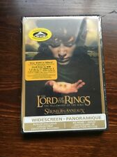 Lord of the Rings Fellowship of the Ring DVD Lenticular HMV OOP RARE Widescreen