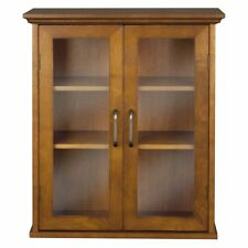 Elegant Home Fashion Anna Wall Cabinet with 2-Door New