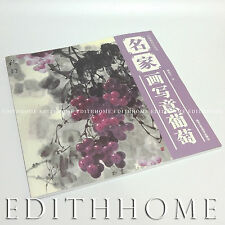 Chinese Painting Book Learn How to Draw Grape - 56page