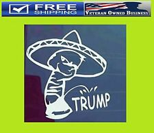 ANTI TRUMP DONALD PISS PEE ON DECAL STICKER Calvin MEXICAN Drumpf President
