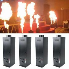 4X 200W DMX Flamethrower Effect Fire Thrower Stage Machine Show Party Projector