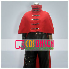 Cosonsen Final Fantasy VII 7 Vincent Valentine Cosplay Costume Full Set All Size