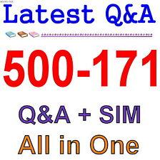 Cisco Best Practice Material For 500-171 Exam Q&A PDF+SIM