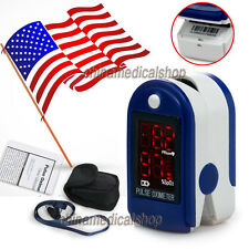 CE&FDA Finger Tip Pulse Oximeter Blood Oxygen Saturation Meter Monitor US seller