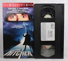 Rare Vintage THE HITCHER VHS WIDESCREEN EDITION 1986 RUTGER HAUER HORROR SLASHER