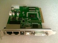 Linsn Sending Card TS801D New w/Manual, Software and DVI/USB Cables